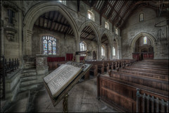 Deene Church Interior 8 (Darwinsgift) Tags: deene church park interior st peters northamptonshire nikon d850 hdr mf lectern abandoned anglican ed d venus optics laowa 12mm f28 zerod