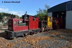 Stradbally, 29/9/17 (hurricanemk1c) Tags: railways railway train trains ireland industrialrailway narrowgauge stradbally stradballywoodlandsrailway 2017 lm44 bórdnamóna irishturfboard steamloco andrewbarclay clonsatworks ruston 4wd rusty rustonandhornsby esb portarlingtonworks 326052 listerhr6 electricitysupplyboard ruston48dl lm167 gardner4lw 402978 coolnamonaworks warrior