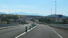 A-23-1 (European Roads) Tags: a23 autovía jaca sabiñánigo huesca aragón españa spain