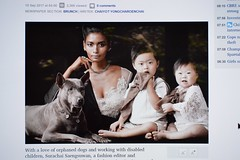 the latest fashion (the foreign photographer - ฝรั่งถ่) Tags: bangkok post article fashion photographer children downs syndrome thai ridgeback dog thailand nikon d3200