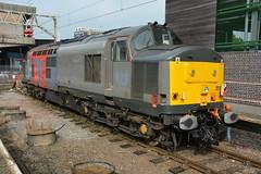 37884 Stafford 27/09/2017 (Brad Joyce 37) Tags: 37884 class37 rog railoperationsgroup locomotive disesl engine stafford station bay staffordshire sunshine nikon d7100
