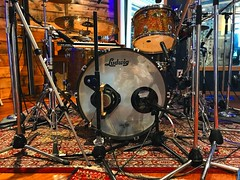 Keeper of the Beat (Pennan_Brae) Tags: musicstudio musicphotography recordingsession recordingstudio microphones microphone recording music drumset drumkit drummer percussion drums