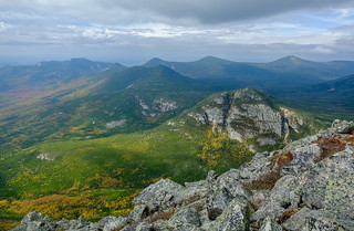 A View From the Hunt Trail, Mount Katahdin, Baxter State Park, Maine