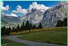 Train du Kleine Scheidegg - Grindelwald - Suisse (jamesreed68) Tags: kleine scheidegg oberland berne suisse nature paysage mountain schweiz canon eos 600d