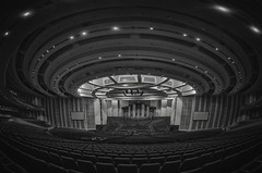 The Church of Jesus Christ of Latter-Day Saints Conference Center (Jovan Jimenez) Tags: the church jesus christ latterday saints conference center architecture building ceiling panorama captured with sony a6500 zeiss touit 12mm 6500 ilce alpha distagon interior black white gray monochromatic monochrome lines curves utah salt lake city kolor autopano autopanopro pano 180 giga gigapixel pixel hdr panoramic lds carl touit2812 mirrorless