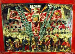 Fiesta de la cruz (Gaby Fil Φ) Tags: retablos retablosayacuchanos arte artesanías artesaníasperuanas mardoniolópez ayacucho artesaníasayacuchanas huamanga ayacuchano ciudaddeayacucho departamentodeayacucho perú sudamérica colores artelatinoamericano andino culturaandina cultura