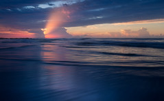 Dreaming in Allegro (Charles Opper) Tags: canon charleston follybeach southcarolina summer atmosphere beach beautiful blue clouds color colour cool dreamy landscape light mood nature reflection sand sea seascape serene shore sky sunrise twilight water waves