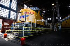 "Centennial ""Big Jack"" at Cheyenne (Colorado & Southern) Tags: unionpacific unionpacificrailroad emddda40x centennial railfanning railroad railfan railway railroads railroading rail rr railroadtrack roundhouse wyoming wyomingtrains wyomingrailroads locomotive locomotives up6936"