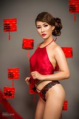 Sexy Mid-Autumn (Khoa Ngô Photography) Tags: select portrait people photoshoot lady indoor sexy lantern strobist beautiful beauty