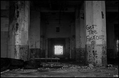 Sage Advice (argentography) Tags: abandoned ruin grainelevator midwest peoria illinois kodak medalist trix