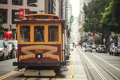 SF street (ExceptEuropa) Tags: canon5dmarkii analog ca cablecar california canon cars cinematic city color explore itscd passingby people photographer photography sanfrancisco sf somewhere street streetphotography travel urban usa
