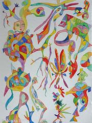 Viva la Vita! (Monika Seelig) Tags: 2017 monikaseelig art watercolor kunst aquarell watercolour europe austria