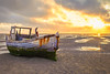 Time And Tide Wait For No Man (Louis Alexander Smith) Tags: nikon nikond700 nikon50mmf18g landscape beach sea sand sunset golden