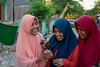 Beauty of colorful smiles (Vagabundina) Tags: smile girl woman hijab muslim street nikon nikond5300 islam 35mm indonesia asia flores labuanbajo dsrl portrait soul people person personality persona