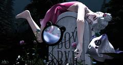 Cuz you're the only refuge now (AriUGH) Tags: secondlife sl virtualworld virtualgame virtualgirl gaming ayashi ersch yokai stonerella secrethideout belleepoque commoner kawaii graveyard grave