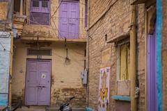 Rajasthan - Jaisalmer - Fort Streets-2-3