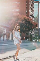 Lia (Randy Wei) Tags: mitakon zhongyi fujifilm speedmaster backlit backlight outdoors street taiwan taipei sunlight smile 楊思原 fashion autumn