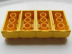 Lego Bayer 8xf error bricks (3) (Fantastic Brick) Tags: lego 2x4 test brick 8xf error bayer