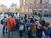 Les 6e1 - devant la cathédrale