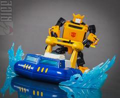 Toyworld Wavebreak and Bee Jetski! (ricemaster76) Tags: transformers bumblebee seaspray