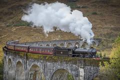 Glenfinnan, Scotland (DM Allan) Tags: glenfinnan lochaber scotland steam train viaduct highlands harrypotter hogwartsexpress