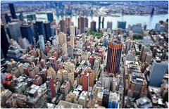 I Did it My Way (Steve Lundqvist) Tags: new york usa states united america manhattan stati uniti travel trip viaggio urban city urbanscape ny nyc nikon downtown building landscape panorama view point architecture cityscape top empire overlook structure pattern big apple skyscraper grattacielo architettura città edificio strada tilt shift height heigh bokeh lego effect 3d finestra d700 hudson river processing post pp