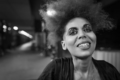 "#184/364 ""What the hell are you doing on this planet?"" (Hendrik Lohmann) Tags: street streetphotography streetportrait portraits people series whatthehell hendriklohmann duesseldorf blackandwhite blackandwhiteportrait nikon nightshot"