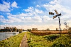 Kalenberg Overijssel (Christian Passi - Steher82) Tags: windmühle windmill kalenberg overijssel sonya6000 a6000 sel1650 photography photo flickr travel traveling sun landschaft landscape outdoor gras himmel