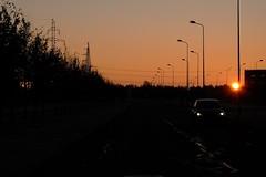 Early drive II (Mikhail Korolkov) Tags: street morning early sunrise car drive fujifilm xe2 xc50230