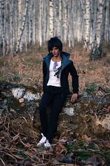 In a birch grove (*Ryuugan*) Tags: iplehouse leonard bjd doll abjd