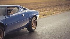 Lancia Stratos Stradale (Roman Rudnicki) Tags: lancia stratos poland polska rally legend vintage wrc classic car classy blue v6 ferrari dino forest landscape night nikon d750 bertone italy torino italian sport sportcar rallycar gdynia collection