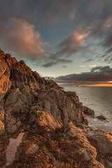 Hawkcraig Point Sunrise (Chris_Hoskins) Tags: wwwexpressionsofscotlandcom fife scotland centralscotland scottishlandscape aberdour hawkcraigpoint firthofforth sunrise scottishlandscapephotography landscape