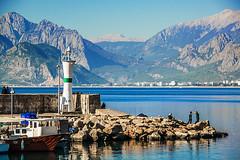First time from here (Melissa Maples) Tags: antalya turkey türkiye asia 土耳其 nikon d3300 ニコン 尼康 nikkor afs 18200mm f3556g 18200mmf3556g vr boattrip party pamka pembeathenalar supportgroup cancer breastcancer memekanseripsikososyaldestekgrubu kaleiçi harbour marina mediterranean sea water lighthouse mountains autumn