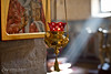 Nevena Uzurov - Luminous (Nevena Uzurov) Tags: light luminous rays indoor window kandilo ortodoxchurch serbia iconlamp monastery jazak fruškagora srem bokeh