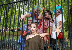 London Zombie Walk 2017 XXIX (Lee Nichols) Tags: londonzombiewalk2017 worldzombiedaylondon2017 worldzombieday zombie zombies zombiewalk stmungos photoshop london wzd2017 doctor nurse