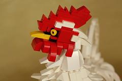 03 (kaba_and_son) Tags: rooster ito jakuchu にわとり ニワトリ 鶏 酉 若冲 小国鶏