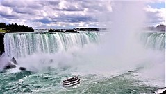 Horseshoe Falls , Niagara (moonjazz) Tags: niagara waterfall canada niagarafall power water horseshoefalls photography river travel color boat maidofthemist wonder falling beauty spectacular amazing usa newyork ontario biggest steam mist vapor tourist bucketlist weather famous geology geography giant enormous big wows