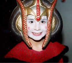Daughter as Queen Amidala (booboo_babies) Tags: queenamidala starwars daughter girl starwarsepisode1 1990s 1999 throwbackthursday tbt costume