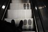A côté de mes pompes (Atreides59) Tags: londres london pied foot pieds feet escalator black white bw blackandwhite noir blanc nb noiretblanc pentax k30 k 30 pentaxart atreides atreides59 cedriclafrance