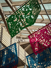 Patterns (kimbar/Thanks for 3 million views!) Tags: atrium dayofthedead decorations internationalfolkartmuseum light newmexico santafe shadows
