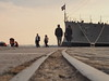 Walk the line 2 (Nikos Karatolos) Tags: streetphotography street people walk track line port thessaloniki samyang 50mm f12 boat