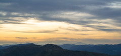 Across the Mountains (Jethro_aqualung) Tags: landscape nikon d3100 mountain autumn autunno tramonto light luce sky cloud nuvole via degli dei appennino toscoemiliano natura nature colour orizzonte