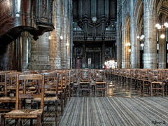 ... (Jean S..) Tags: church indoors ancient old paris