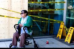 Caution (klauslang99) Tags: streetphotography klauslang caution person toronto