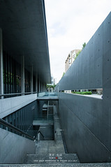 Fukutake Hall Tokyo University (Pop_narute) Tags: tokyo university japan building design architecture tadao ando concrete