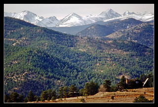 Indian Peaks of the Front Range in Colorado - 1984