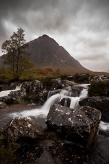 Buachaille Etive Mor (ieuanrogers) Tags: etivemor scotland glencoe highlands mountain waterfall water visitscotland outdoor landscape sky scenery
