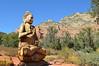 Thunder Mountain Buddha (Sotosoroto) Tags: sedona arizona amitabha amitabhastupa mountain statue