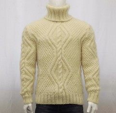 Mens cream cabled fashion wool turtleneck (Mytwist) Tags: turtleneck turtlemeck tneck tn colroulé col roulé colroule cabled cables cable highneck highcollar high collar correctstore wool sexy knitted design cozy fashion aranstyle authentic dicipline donegal fetish fuzzy fair grobstrick handgestrickt handknitted handknit craft classic passion love polo