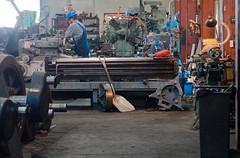 Durango workshops IMG_5309 Durango & Silverton RR (Recliner) Tags: baldwin dsng drg